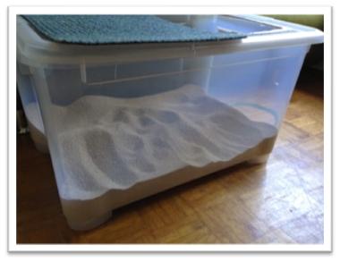 katzenklo katzenklo wie gro soll s denn sein. Black Bedroom Furniture Sets. Home Design Ideas